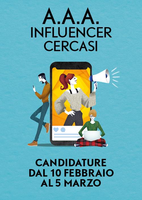 Evento: Influencer cercasi