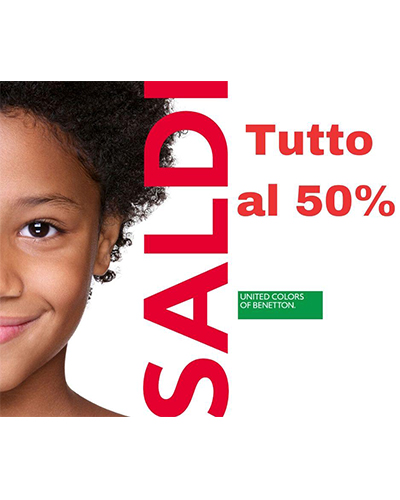 Promozione UNITED COLORS OF BENETTON